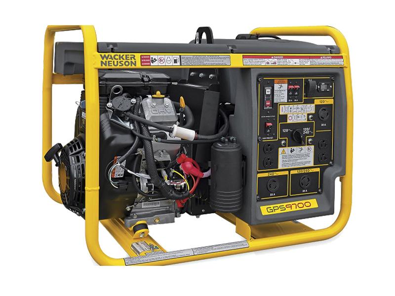 9700 Watt Generator Franklin Equipment Racine