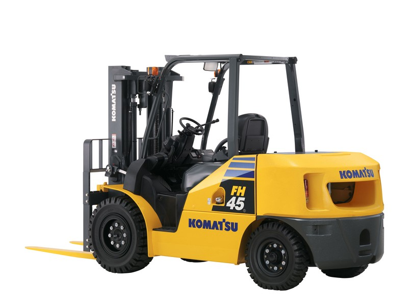 Semi-Pneumatic Forklifts